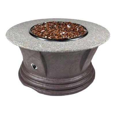Havana III Resin Propane Fire Pit Table