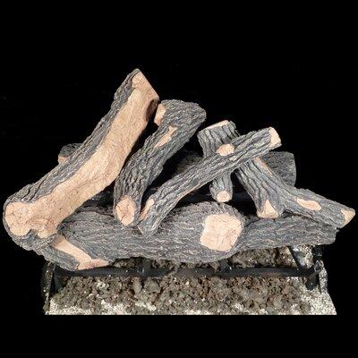 """Canyon Oak Gas Log Size: 8"""" H x 24"""" W x 8"""" D"""