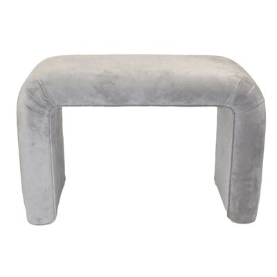 Upholstered Bench Upholstery Color: Dove