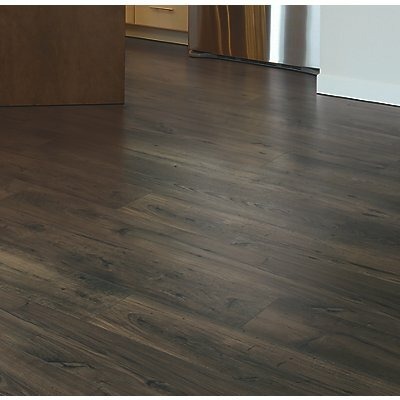 "Rugged Vision 7.5"" x 54.34"" x 11.93mm Chestnut Laminate Flooring in Brown"