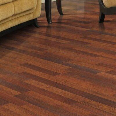 "Mohawk Flooring Genova 6"" x 54"" x 8mm Merbau Laminate in Natural Merbau Plank"