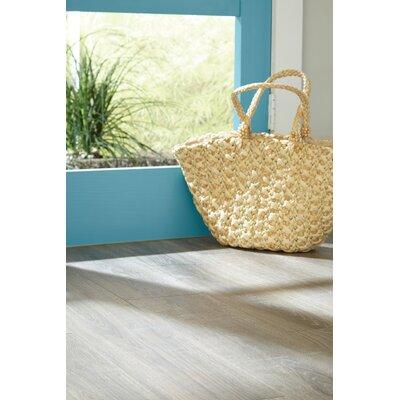 "Rugged Vision 7.5"" x 54.34"" x 11.93mm Oak Laminate Flooring in Brown"