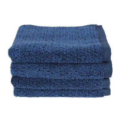 Diamond Jacquard Hand Towel Color: Navy