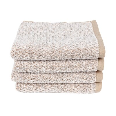 Diamond Jacquard Hand Towel Color: Caramel