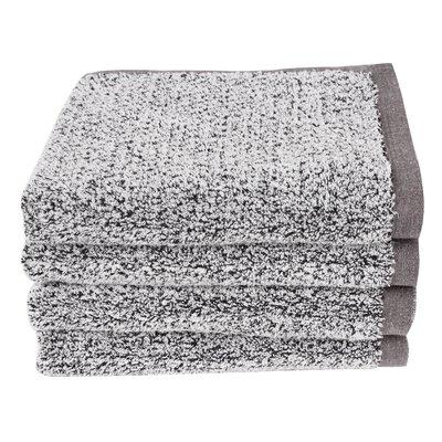 Diamond Jacquard Hand Towel Color: Gray