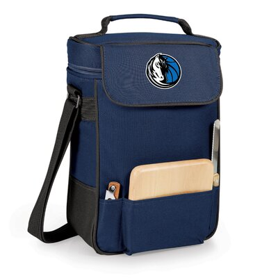 12 Can Duet Picnic Cooler Color: Navy, Team: Dallas Mavericks