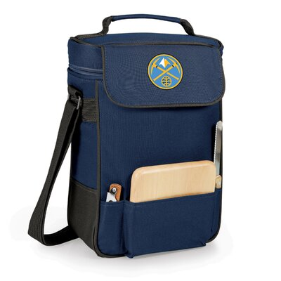 12 Can Duet Picnic Cooler Color: Navy, Team: Denver Nuggets