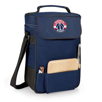 12 Can Duet Picnic Cooler Color: Navy, Team: Washington Wizards