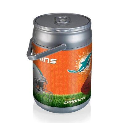 9 Qt. NFL Digital Print Picnic Cooler NFL Team: Miami Dolphins