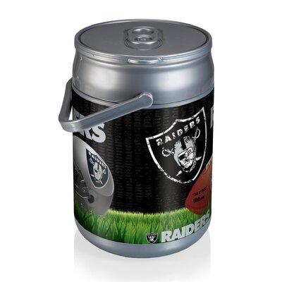 9 Qt. NFL Digital Print Picnic Cooler NFL Team: Oakland Raiders