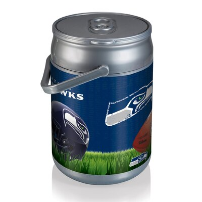 9 Qt. NFL Digital Print Picnic Cooler NFL Team: Seattle Seahawks