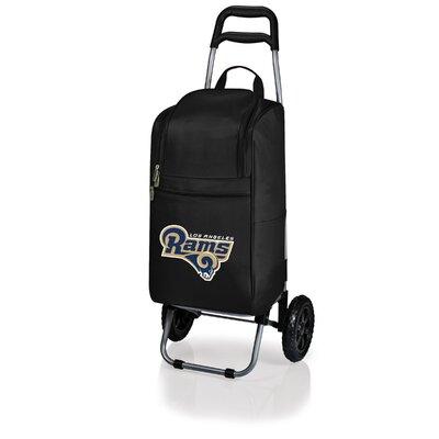 37 Can NFL Cart Rolling Cooler Color: Navy, NFL Team: Denver Broncos