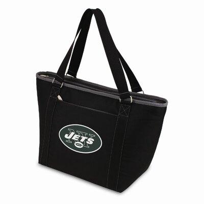 24 Can NFL Topanga Tote Cooler Color: Black, NFL Team: New York Jets