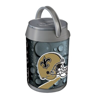 5 Qt. NFL Mini Cooler NFL Team: New Orleans Saints