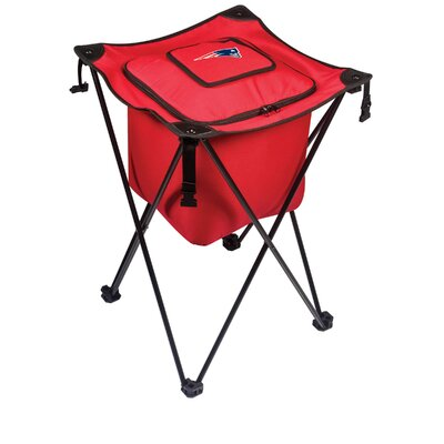 NFL Sidekick Picnic Cooler Color: Red, NFL Team: New England Patriots