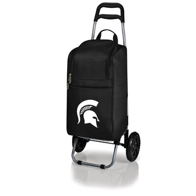 NCAA Michigan State University Spartans Cart Picnic Cooler