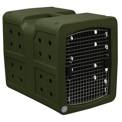 Pet Crate Color: Olive