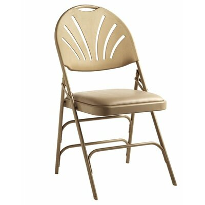 XL Series Vinyl Padded Folding Chair Finish: Neutral
