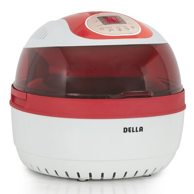 10 Liter Electric Air Fryer Color: Red