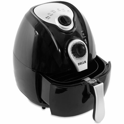 4.2 Liter Electric Air Fryer Color: Black