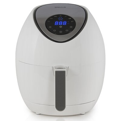 3 Liter Electric Air Fryer Color: White