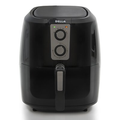 5.5 Liter XL Electric Air Fryer Color: Black