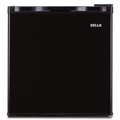 1.1 cu. ft. Upright Freezer Color: Black