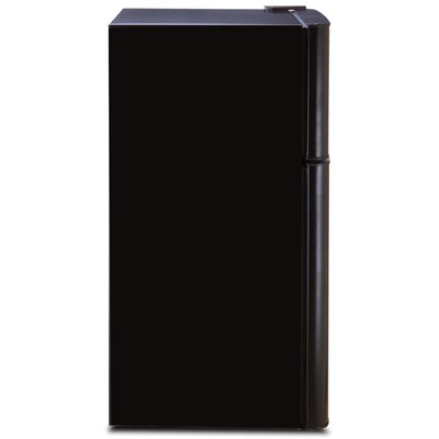 4.5 cu. ft. Compact Refrigerator with Freezer Finish: Black