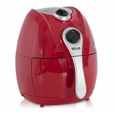 4.2 Liter Electric Air Fryer Color: Red
