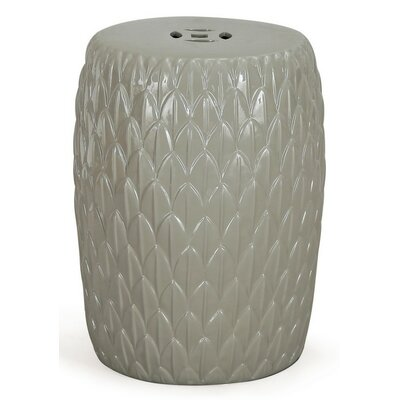 Ceramic Garden Stool Finish: Gray