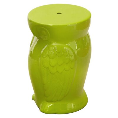 Ceramic Garden Stool Finish: Lime