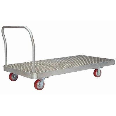"2000 lb. Capacity Platform Dolly Size: 10.75"" H x 24"" W x 50"" D"