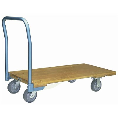 "1000 lb. Capacity Platform Dolly Size: 9.25"" H x 24"" W x 48"" D"