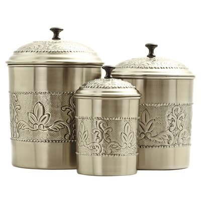 Old Dutch International Victoria 3-Piece Canister Set