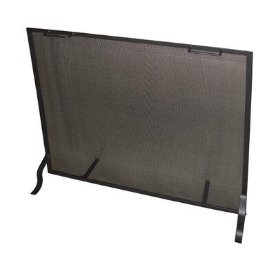 "Single Panel Steel Fireplace Screen Size: 36"" H x 36"" W x 7"" D"
