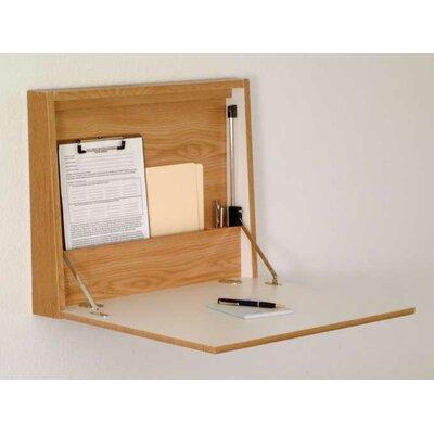 Wooden Mallet Fold-Away Wall Floating Desk