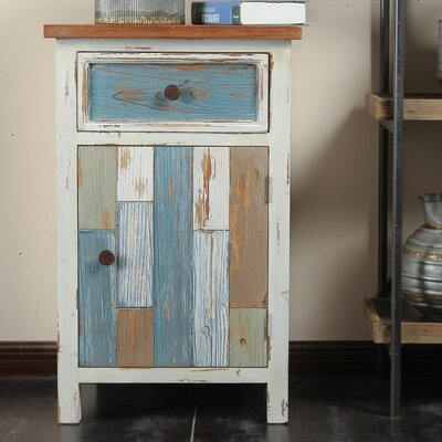 Cecile 1 Drawer Accent Cabinet