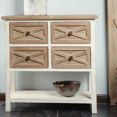 Shery 4 Drawer Accent Cabinet