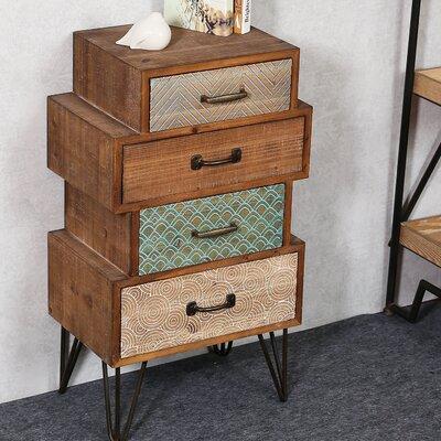Burhardt Chic 4 Drawer Accent Cabinet