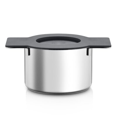 Gravity Soup Pot with Lid Color: Gray, Size: Extra Extra Large