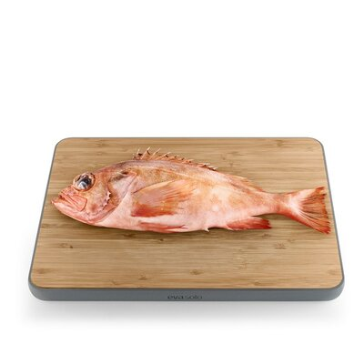 Bamboo Cutting Board Color: Gray