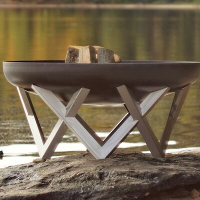 Vingis Stainless Steel Wood Burning Fire Pit