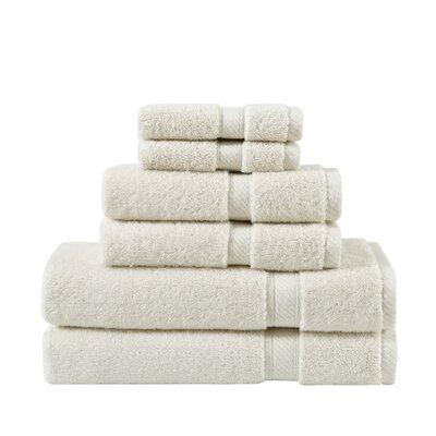 Classic 100% Cotton Bath Towel Color: Almond Milk