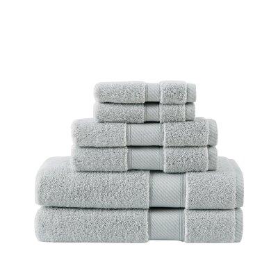 Classic 100% Cotton Bath Towel Color: Dawn Blue