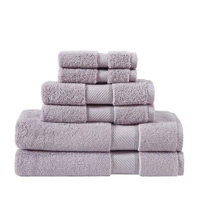 Classic 100% Cotton Bath Towel Color: Raindrops