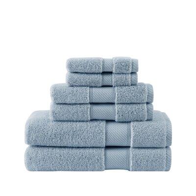 Classic 100% Cotton Bath Towel Color: Skyway
