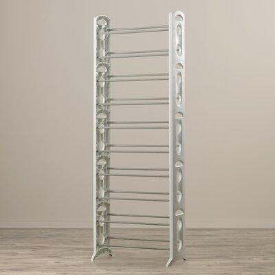 Floor 10-Tier 30 Pair Shoe Rack