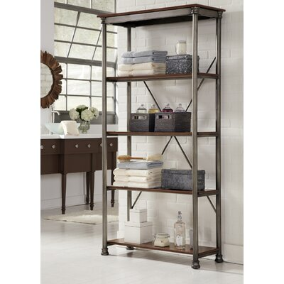 Munford Etagere Bookcase Color: Birch