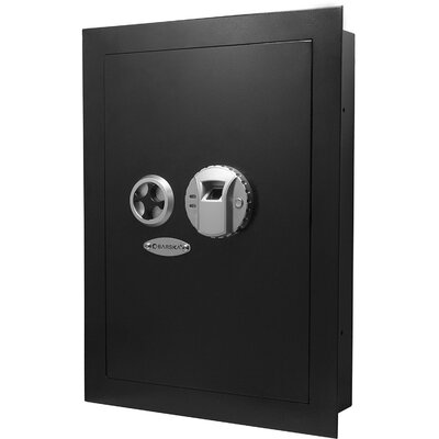 Biometric Lock Wall Safe 0.69 CuFt