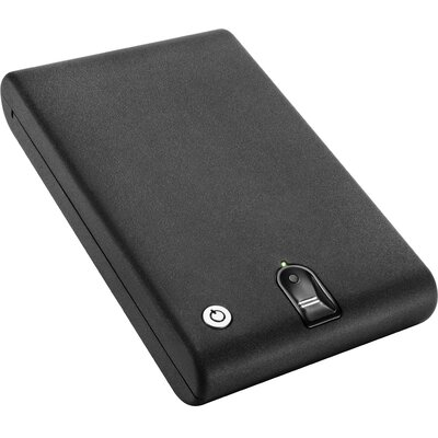 Portable Biometric Cash Box with Dual-Lock